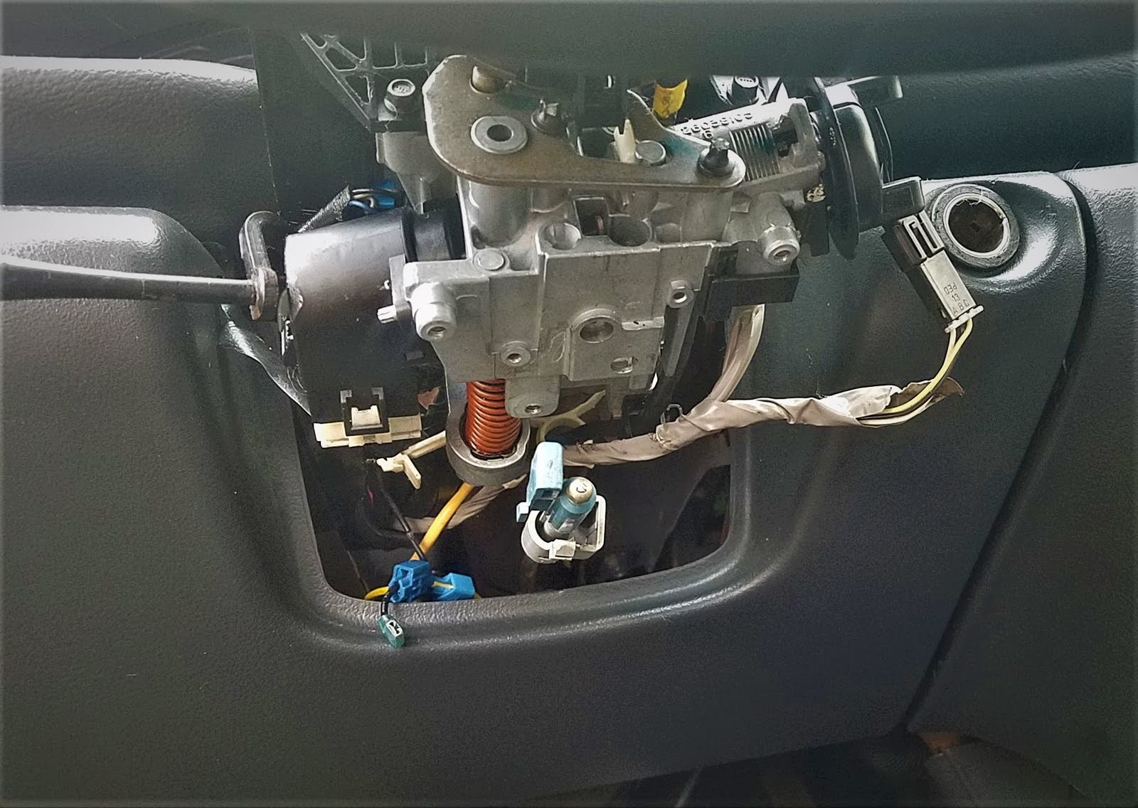 hight resolution of before you buy a new cylinder lock try removing park lock cable from the steering column if that fixes your problem then the park lock cable needs to be