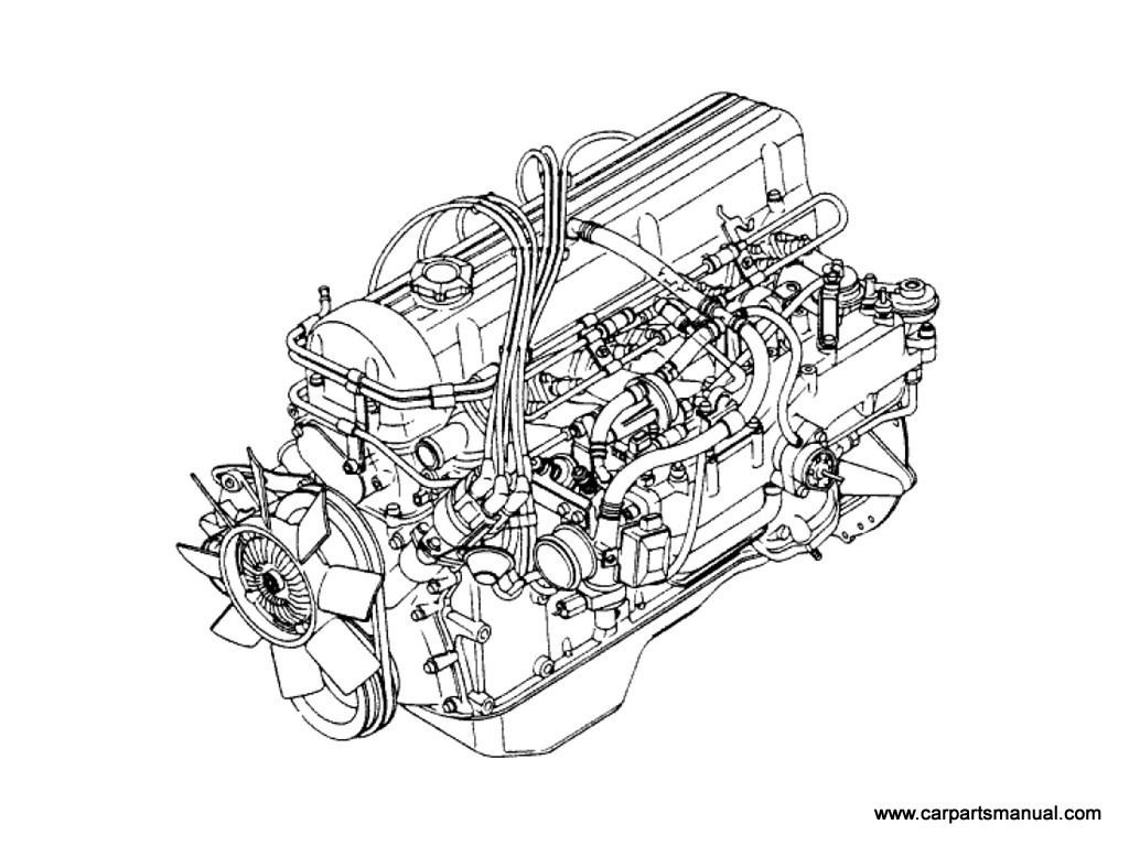 Datsun 810 Engine