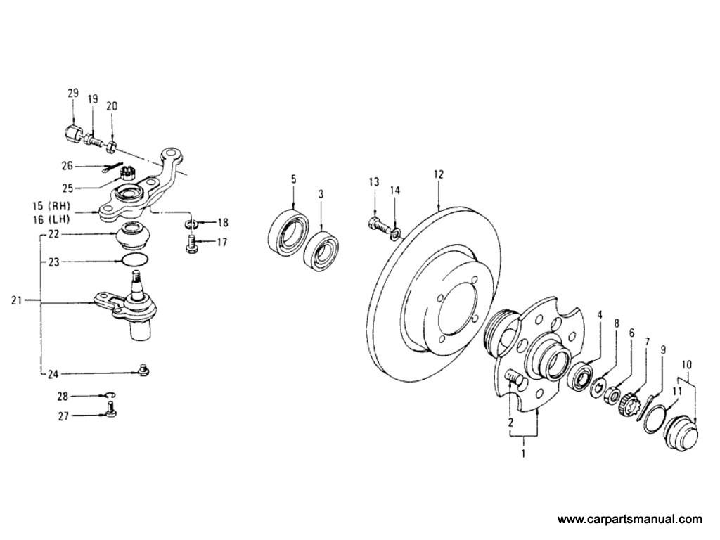 Datsun 810 Axle