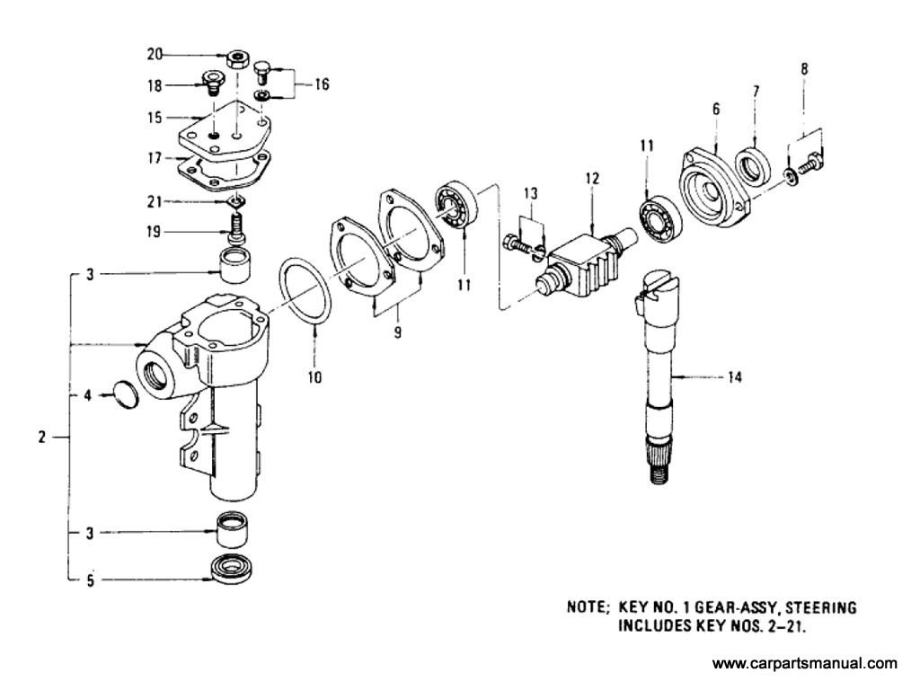 Datsun 810 Steering