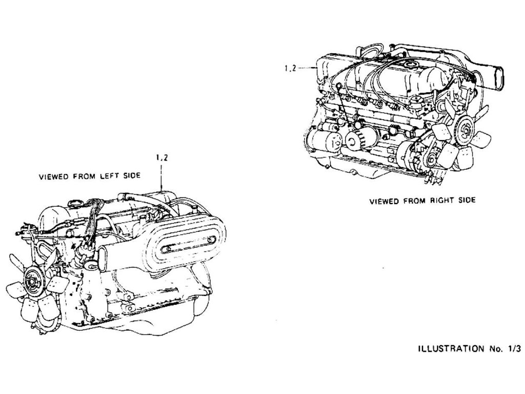 Datsun Z Engine L24 & L26