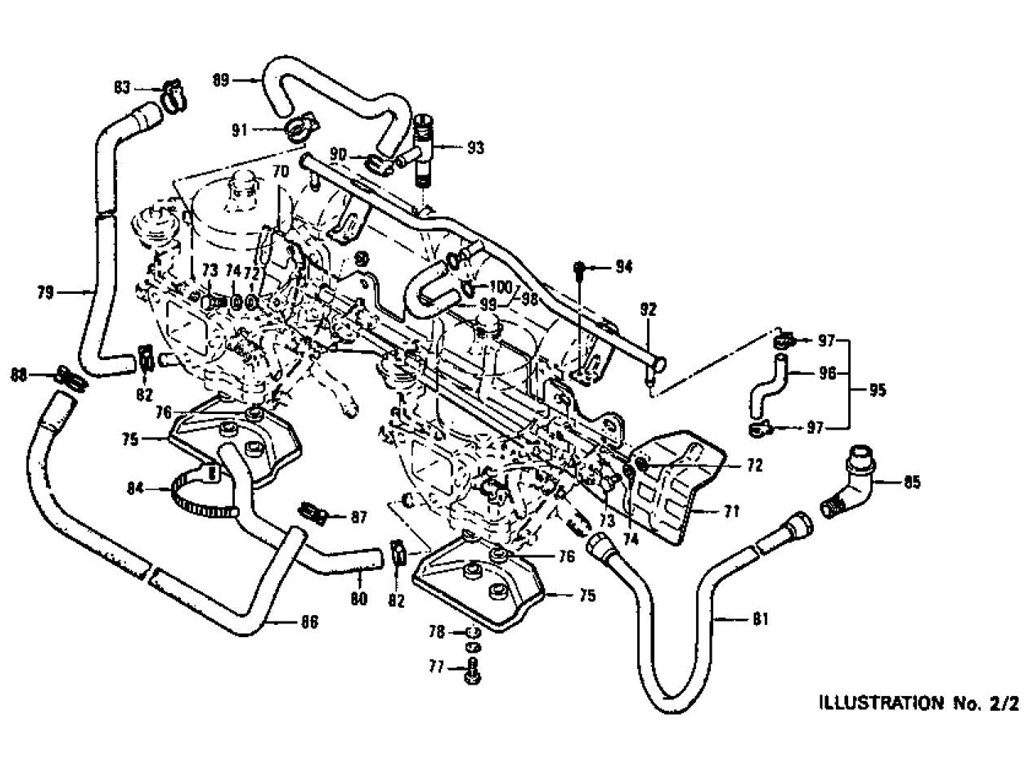 Datsun Z Carburetor L24 (From Jul.-'72 To Jul.-'73)