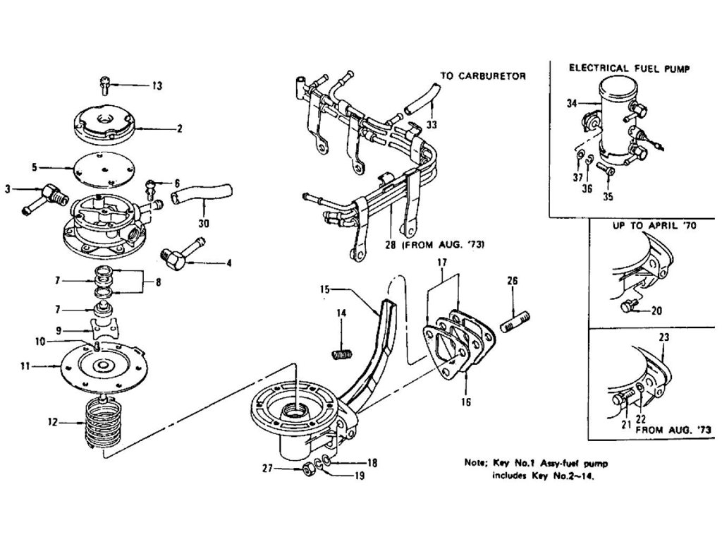 1978 Datsun 280z Wiring Harness Diagram. Parts. Wiring