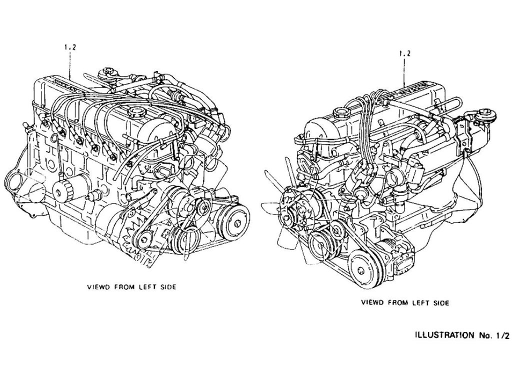 Datsun Z Engine Index (L28E)