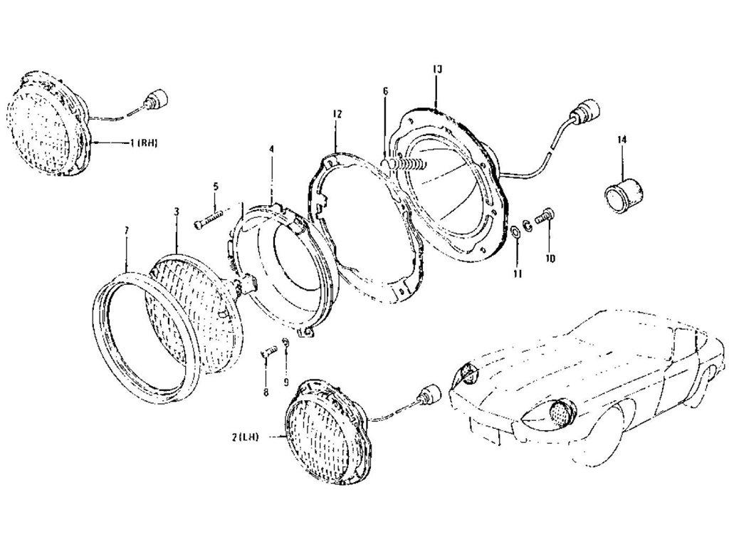 Datsun Z Head Lamp