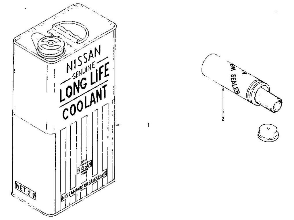 Datsun Z Long Life Coolant & N.C.S Sealer