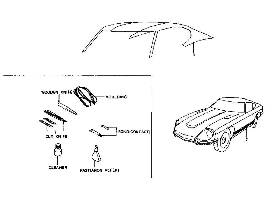 1974 Datsun 260z Wiring Diagram. Diagram. Auto Wiring Diagram