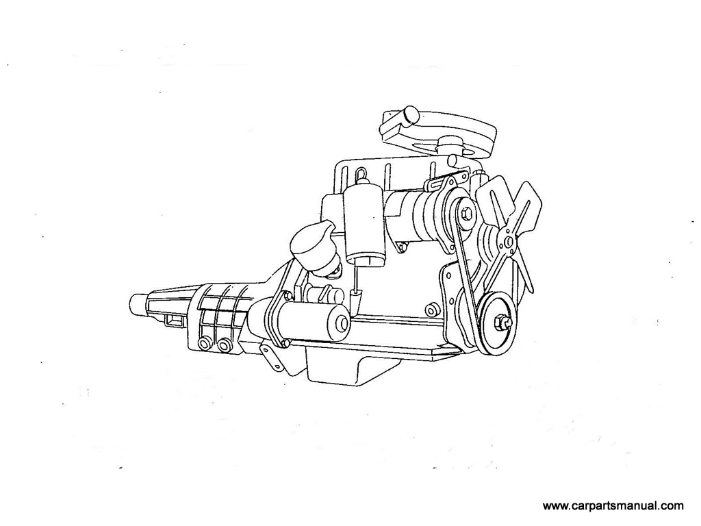 Datsun Bluebird (410) Engine Assemblies