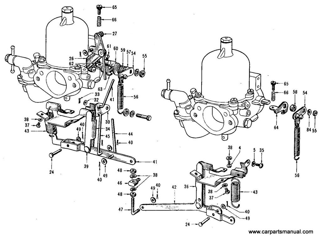 Datsun Bluebird (410) Carburetor (Twin) (SS)