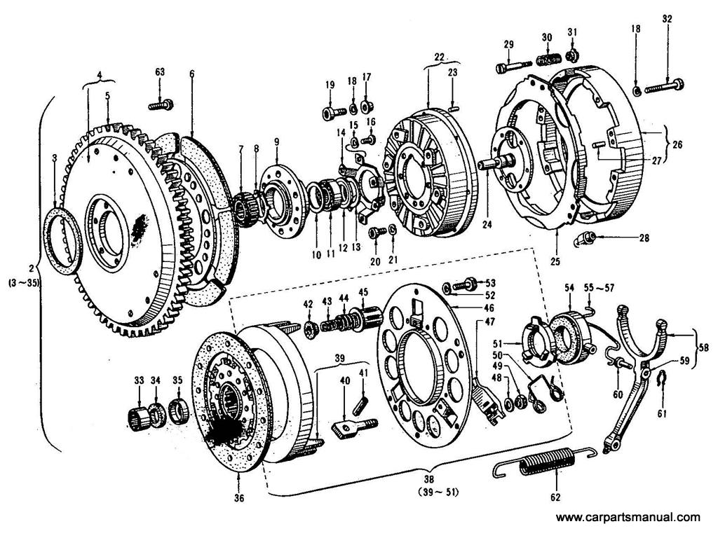 Datsun Bluebird (410) Auto-Clutch