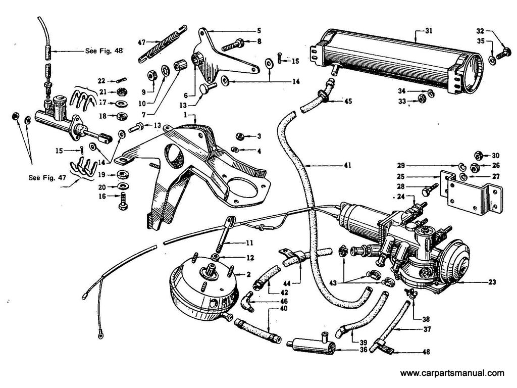 Datsun Bluebird (410) Auto-Clutch Release Mechanism