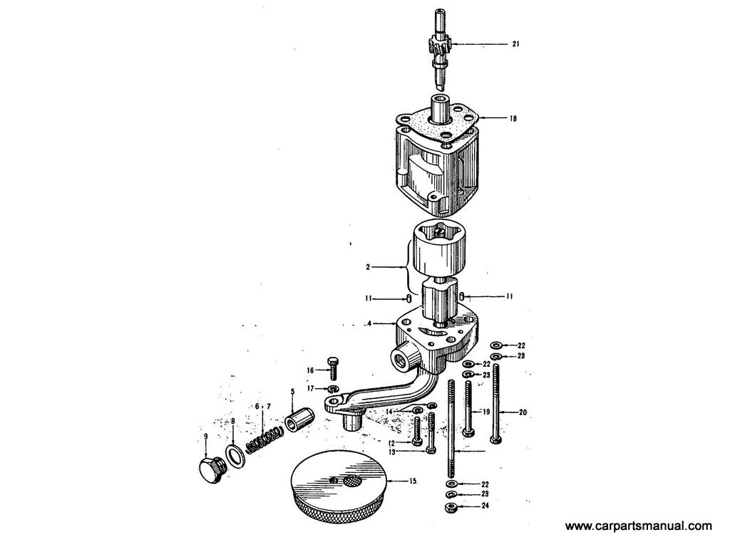 Datsun Bluebird (411) Oil Pump (1.3L)