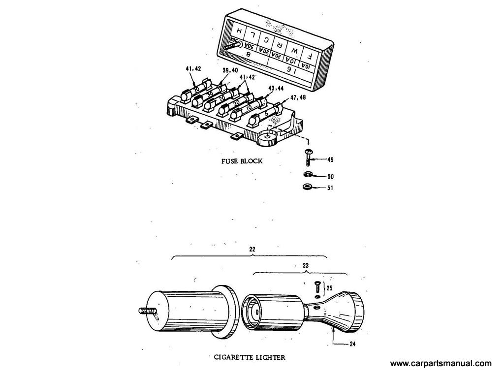 Datsun Bluebird (411) Electric Unit