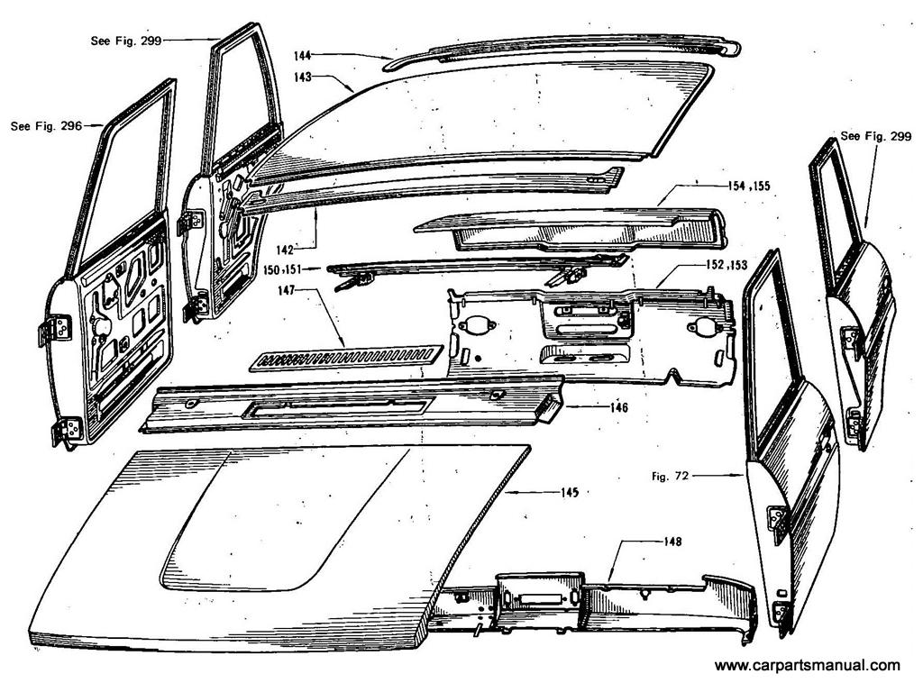 Datsun Bluebird (411) Body Panels