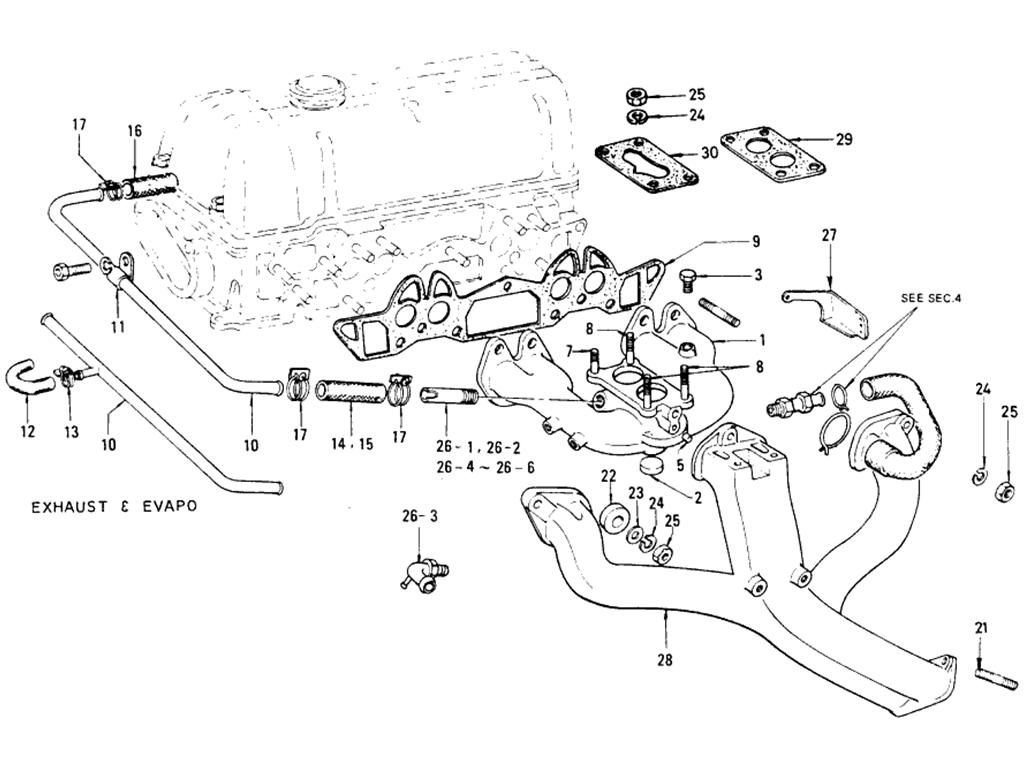 Datsun 510 Manifold