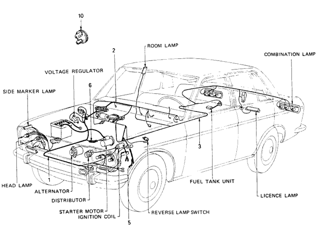 Datsun 510 Wiring