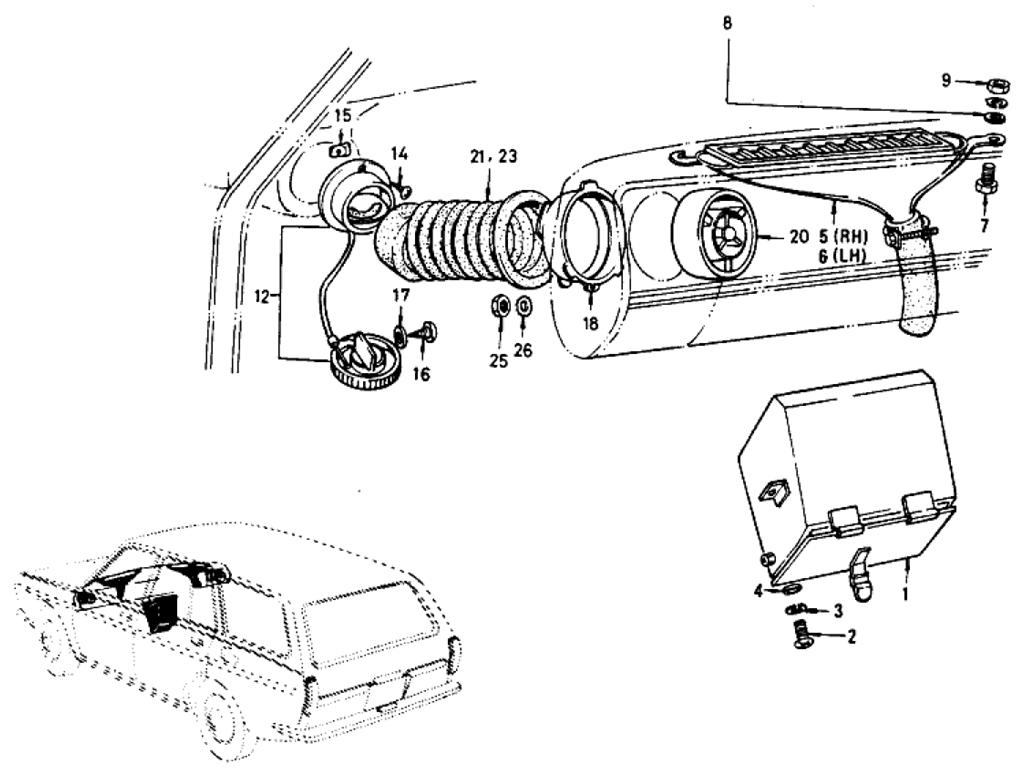 Datsun 510 Ventilator (Wagon)
