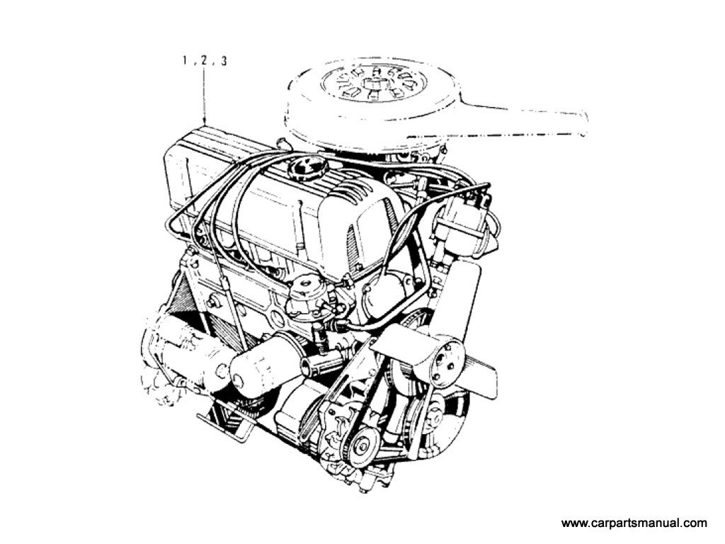Datsun Bluebird (610) Engine (L18)