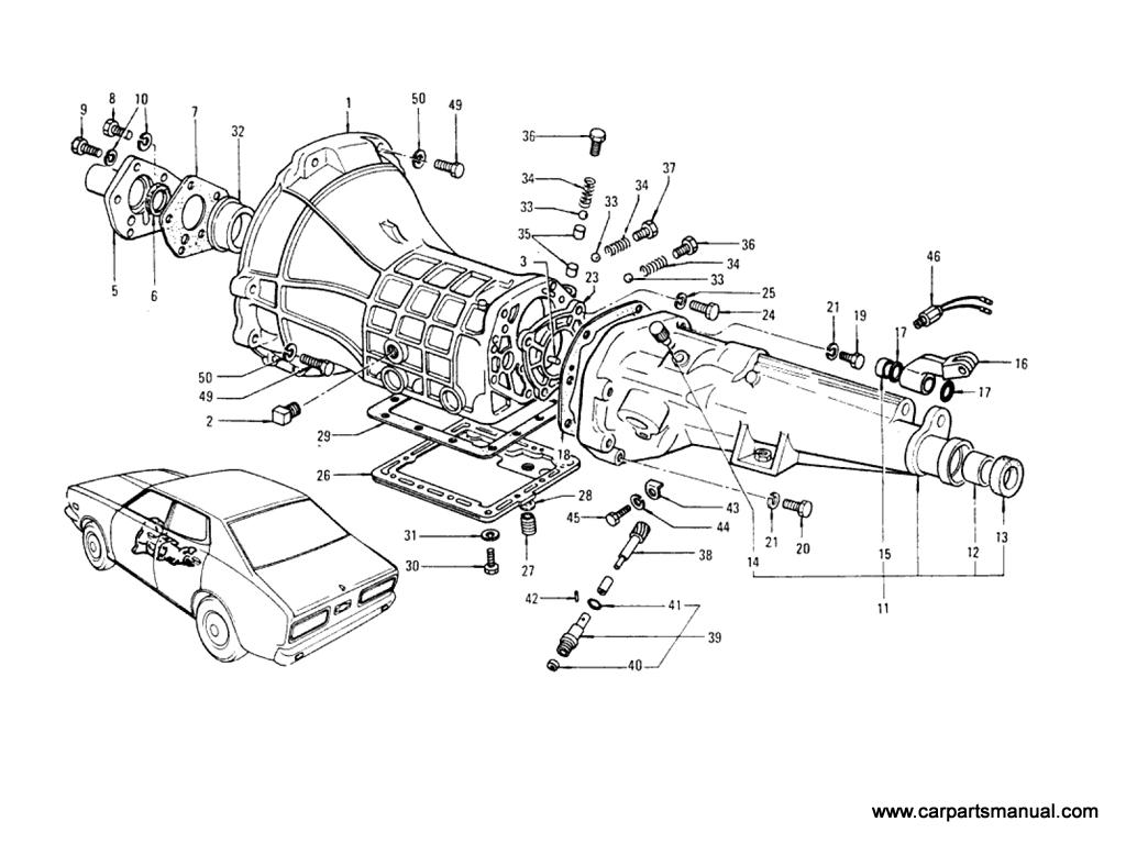 Datsun Bluebird (610) 4-Speed