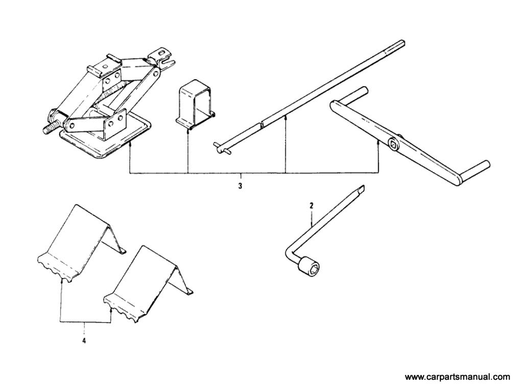 Datsun Bluebird (610) Tool Kit