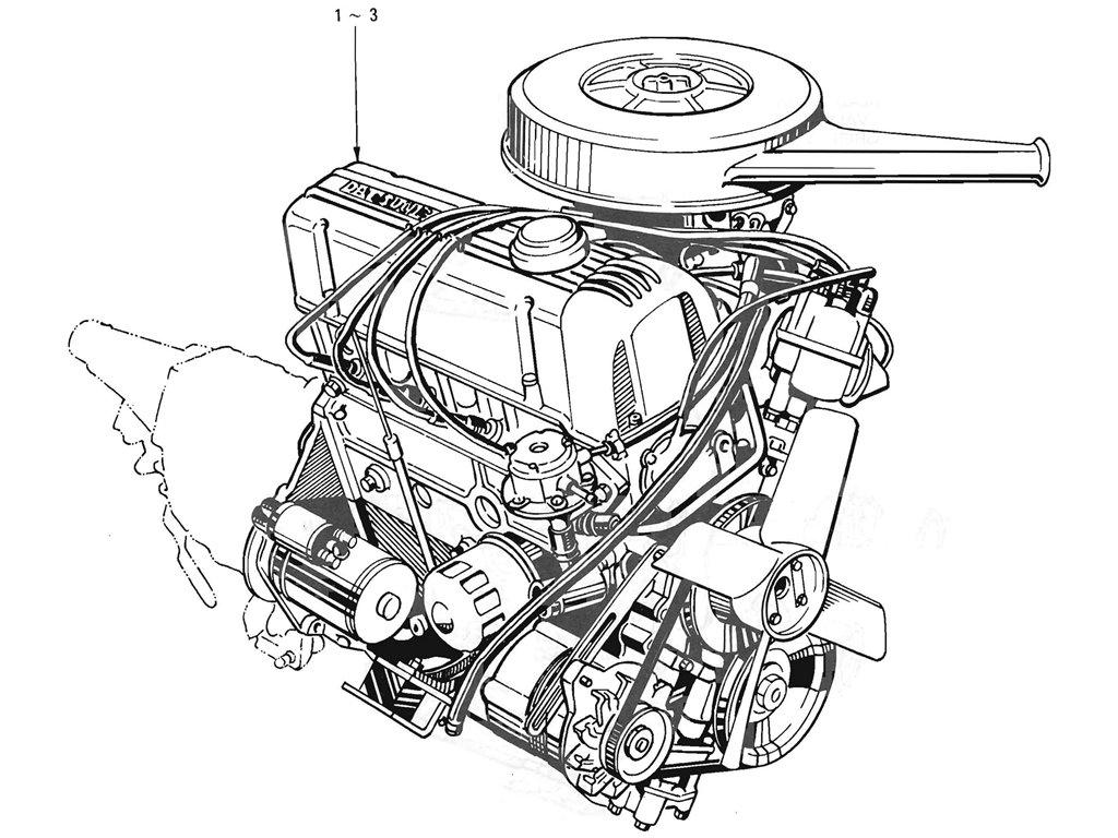 Datsun Pickup (520/521) Engine Assemblies & Gasket Kit