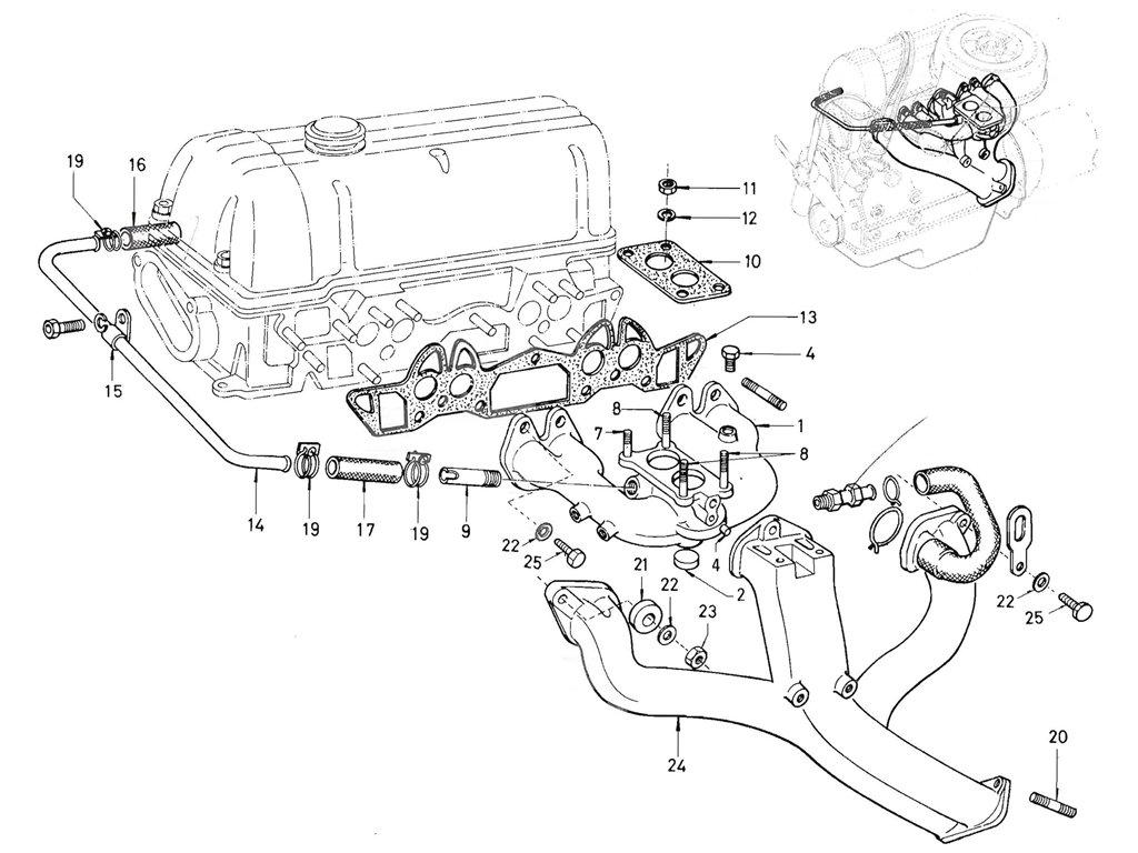 Datsun Pickup (520/521) Manifold (L16)
