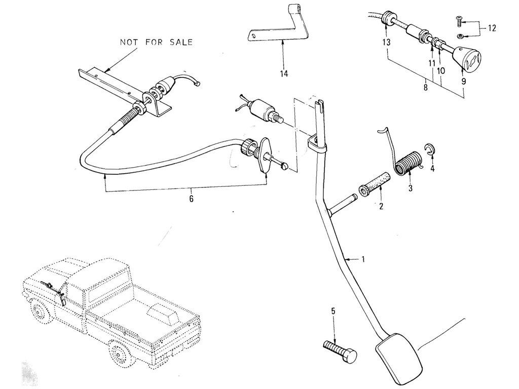 Datsun Pickup (520/521) Accelerator (L16)