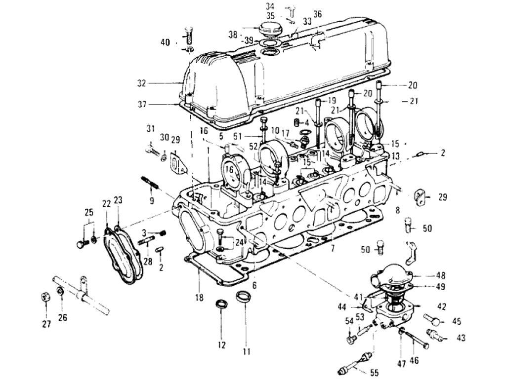 Datsun Pickup (620) Cylinder Head (L18)