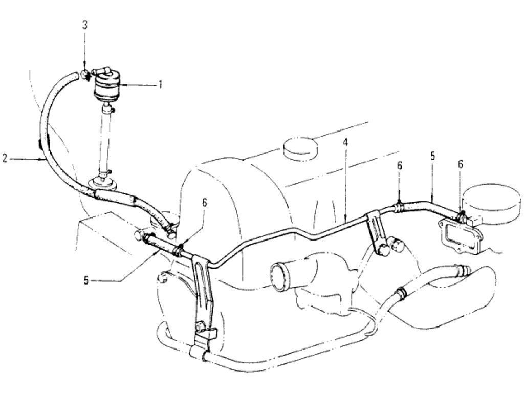 Datsun Pickup (620) Fuel Strainer & Fuel Hose (L18)