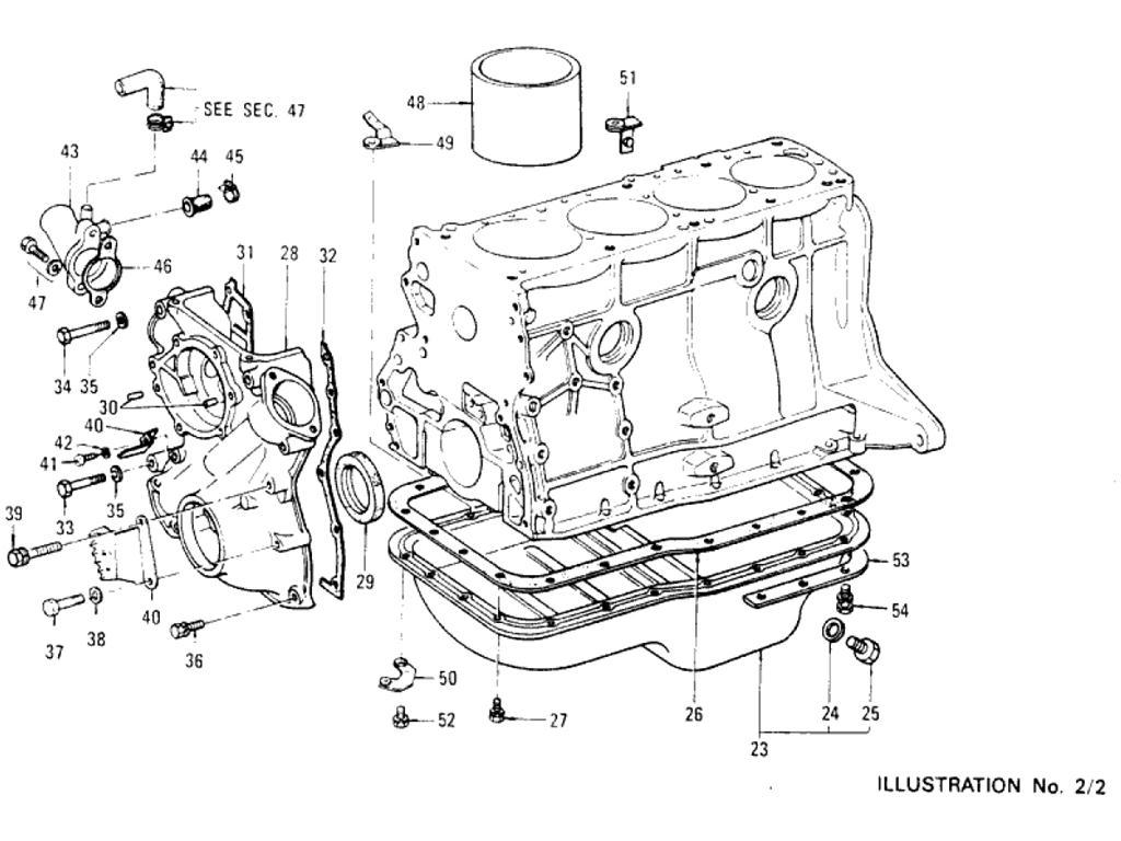 Datsun Pickup 620 Cylinder Block L16