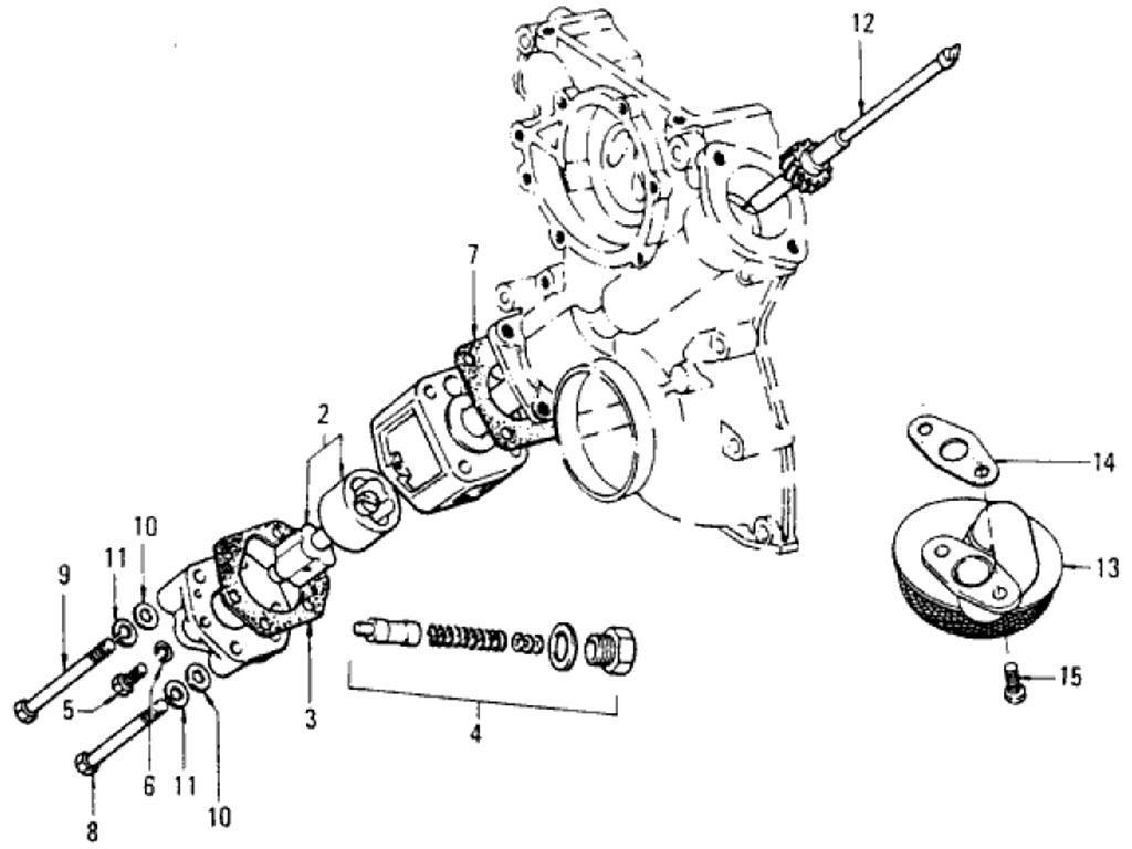 Datsun Pickup (620) Oil Pump (L16)