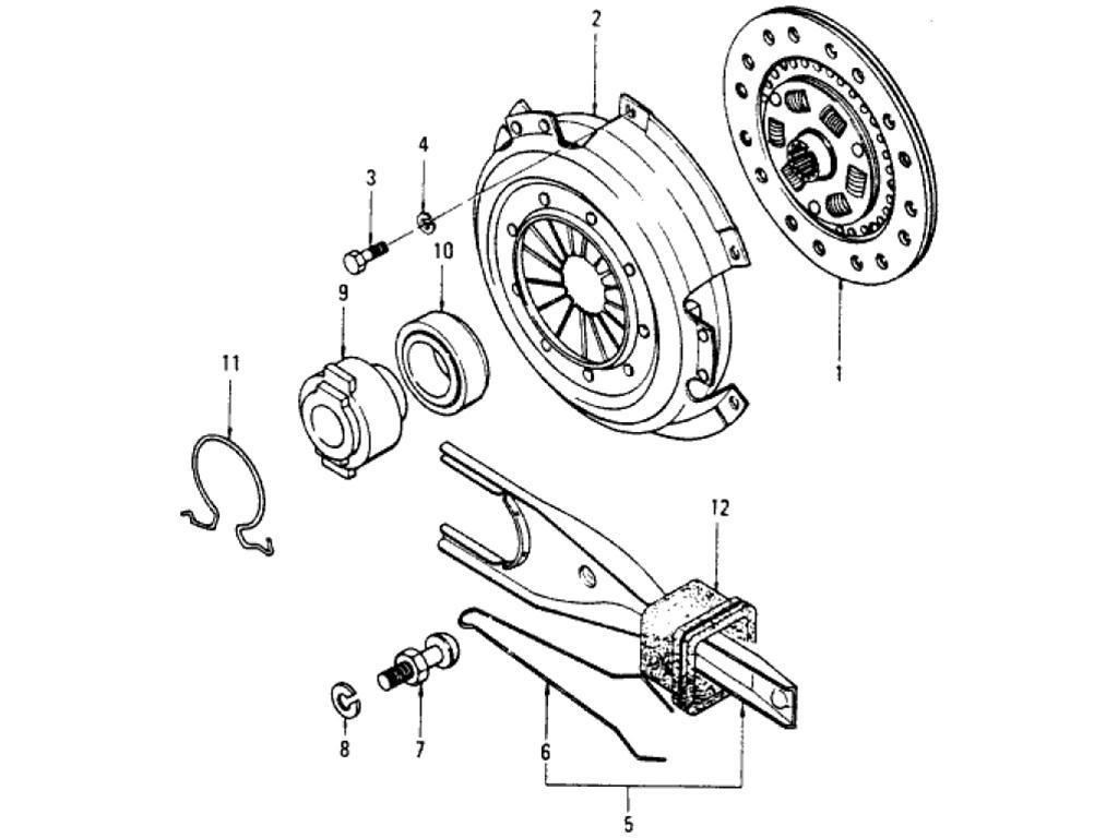 Datsun Pickup (620) Clutch