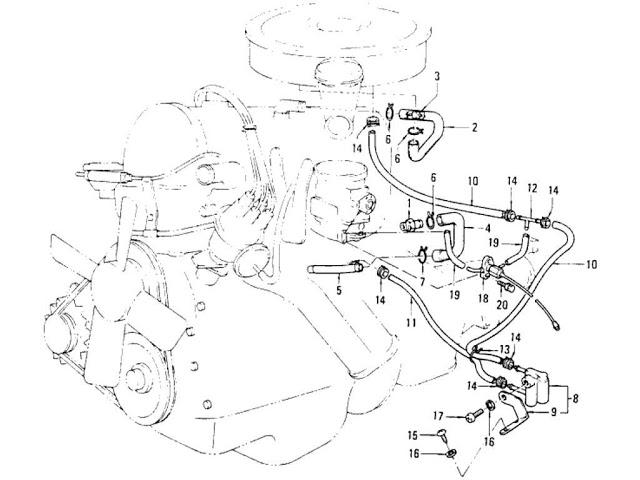 Datsun 620 Emission Control Device (L16)