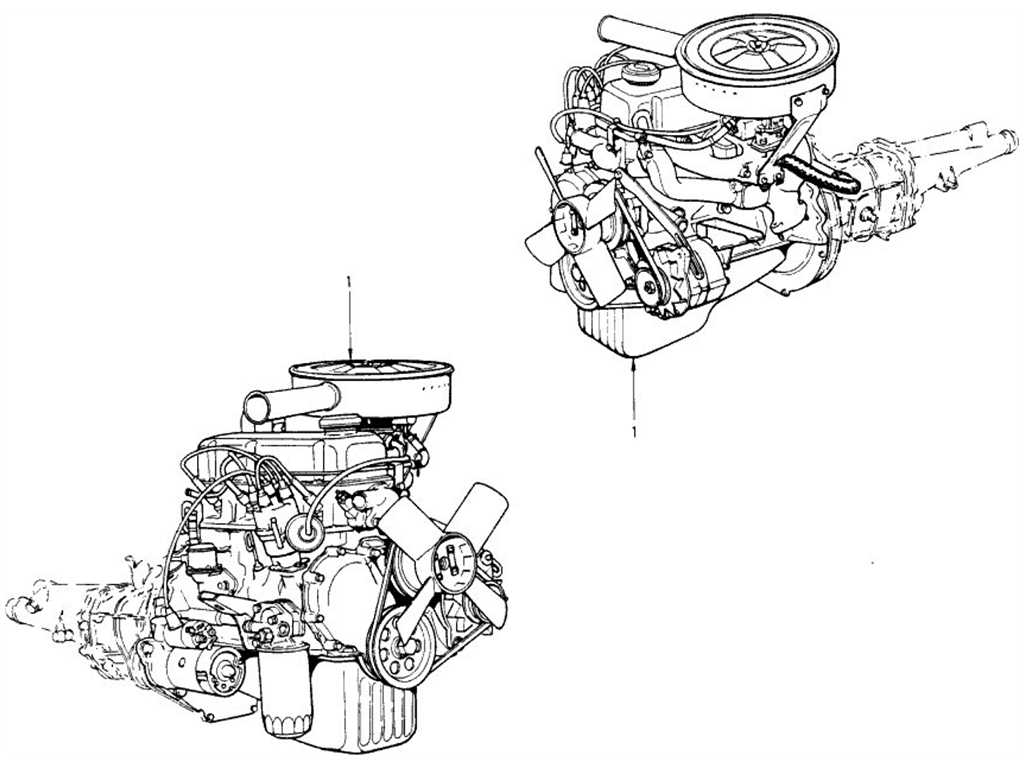 Datsun 1200 (B110) Engine Assembly