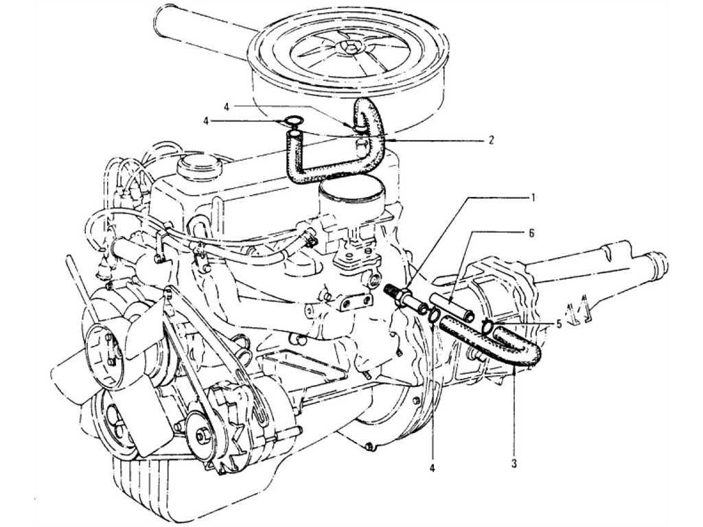 Datsun 1200 (B110) Emission Control Device