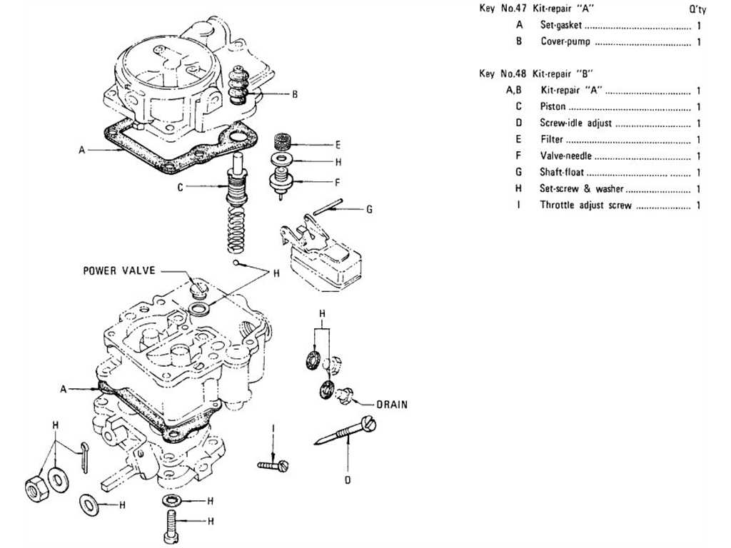 Datsun 1200 (B110) Carburetor (Crank)