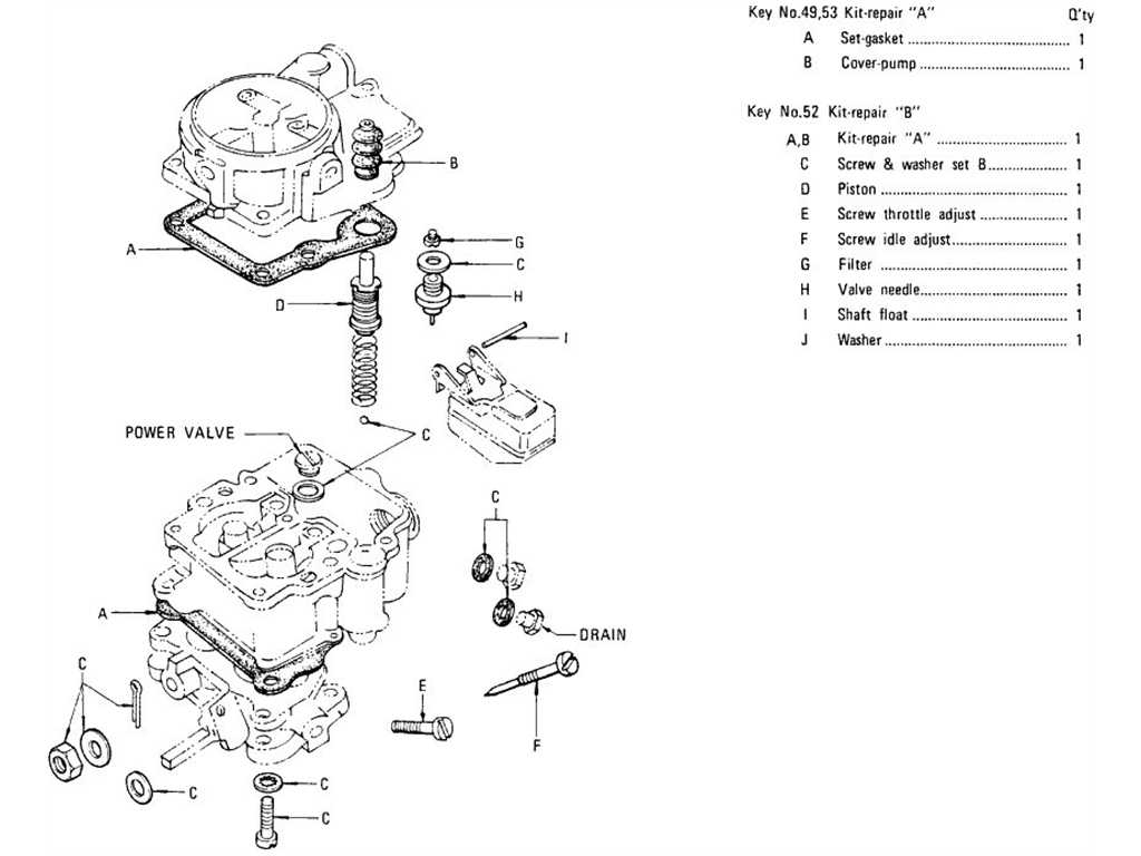 Datsun 1200 (B110) Carburetor (Exhaust & Evapo)