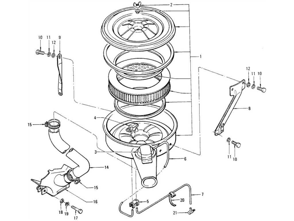 Datsun 1200 (B110) Air Filter (No Emission Control)
