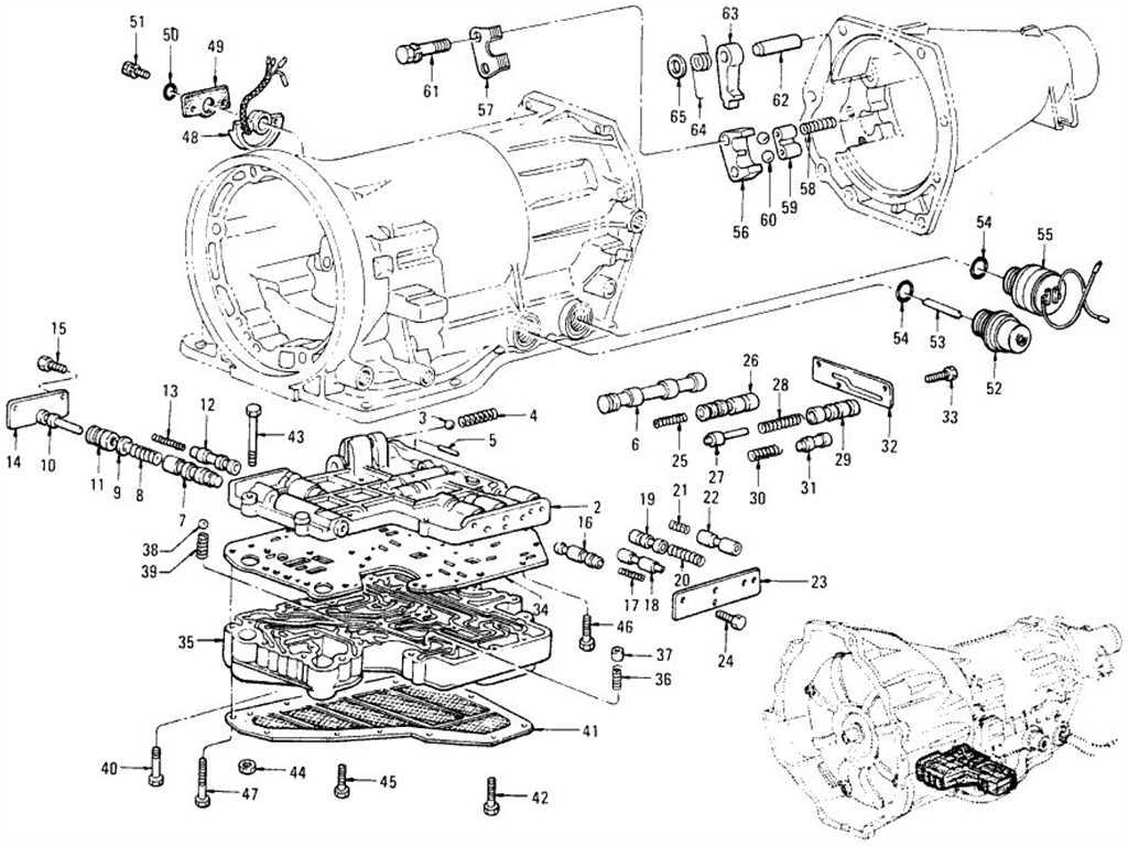 Datsun 1200 (B110) Control Valve (Automatic 3N71B)