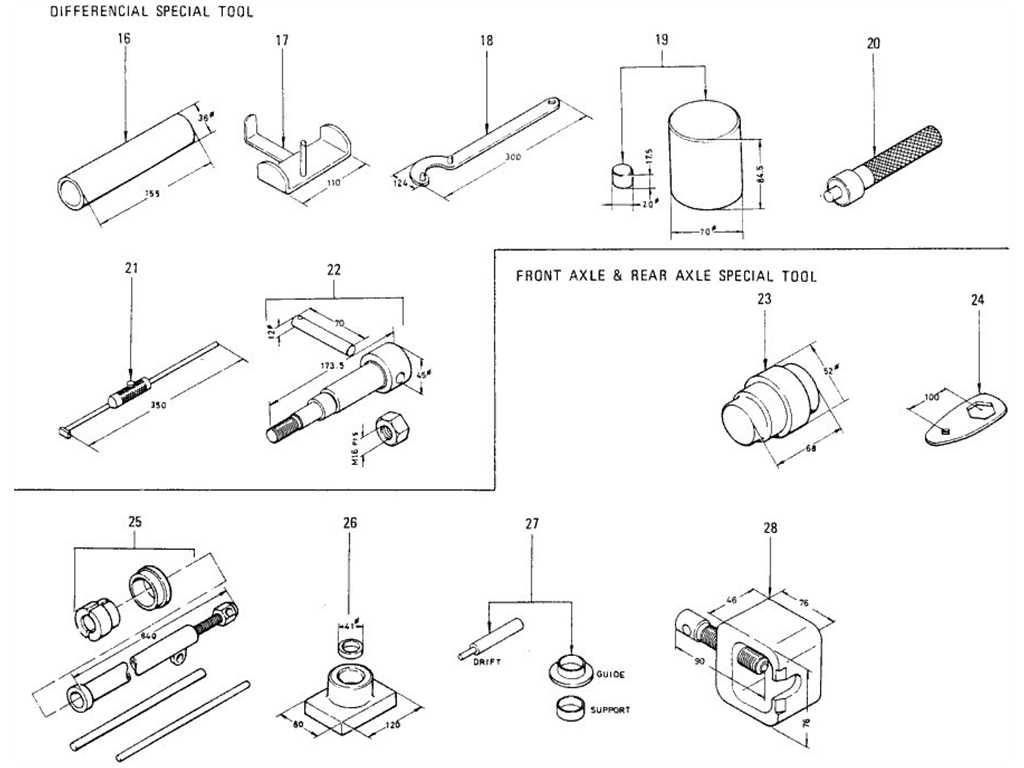 Datsun 1200 (B110) Special Tool