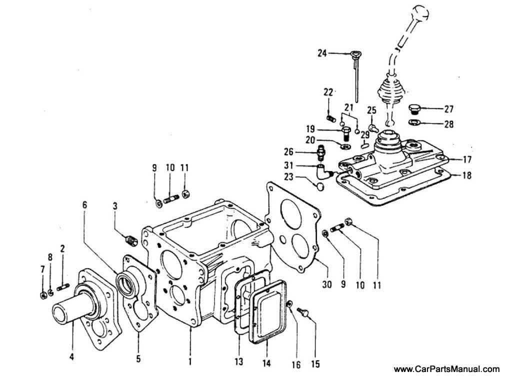Nissan Patrol (60) Transmission Case