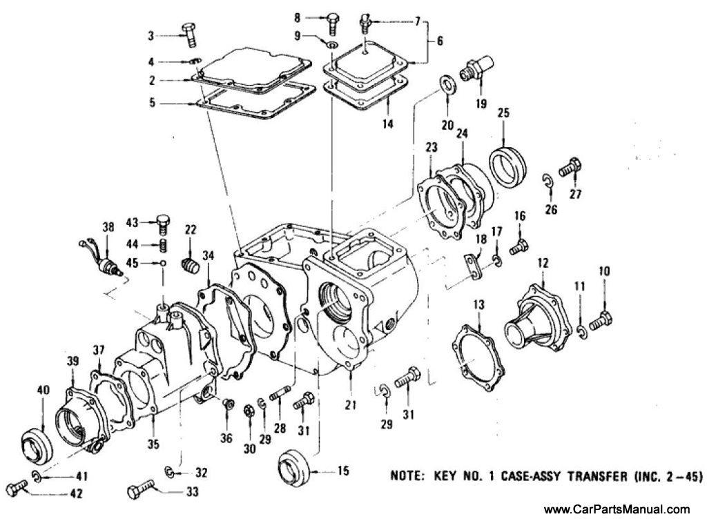 Nissan Patrol (60) Transfer Case