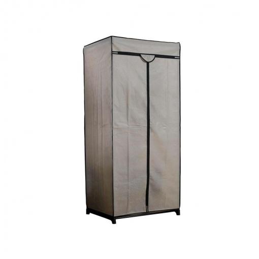 Armario Metalico con Funda de Tela y cierre con Cremallera Compactor Beige  Las mejores ofertas de Carrefour