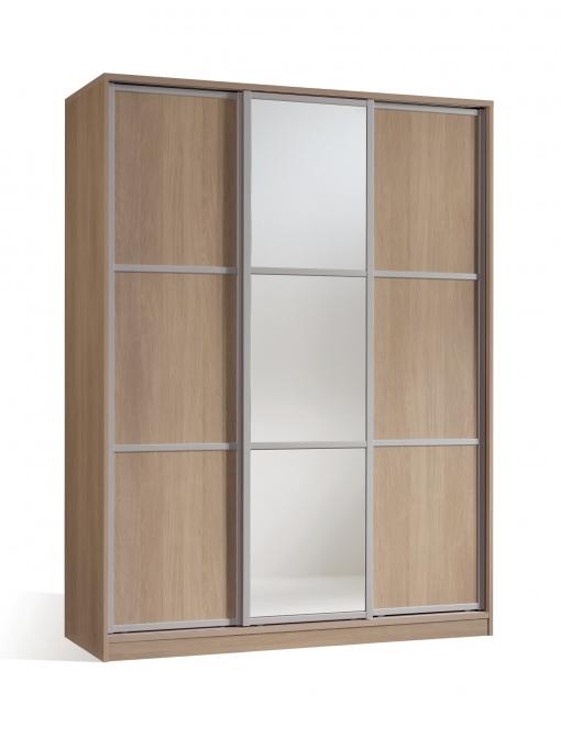 Armario Ropero Dormitorio Color Cambrian Y Espejo 3