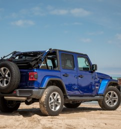 01 jeep wrangler 2019 angle beach blue  [ 2048 x 1365 Pixel ]