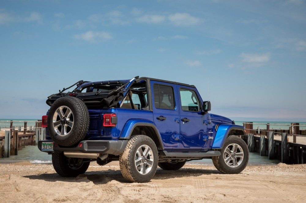 medium resolution of 01 jeep wrangler 2019 angle beach blue