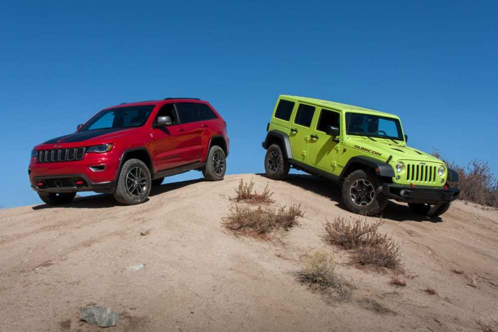 medium resolution of ultimate jeep head to head wrangler rubicon versus grand cherokee trailhawk news cars com