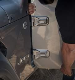 07 jeep wrangler 2018 doors exterior grey jpg [ 1170 x 780 Pixel ]