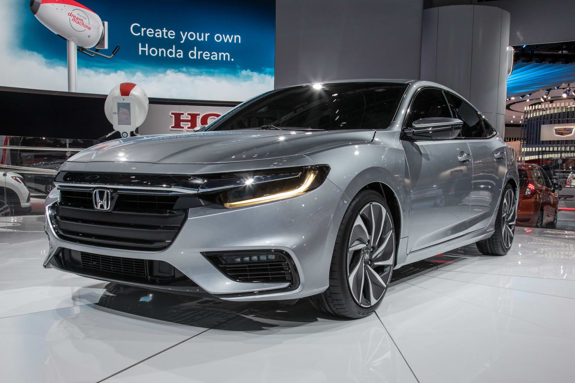 hight resolution of 01 honda insight prototype angle autoshow exterior front