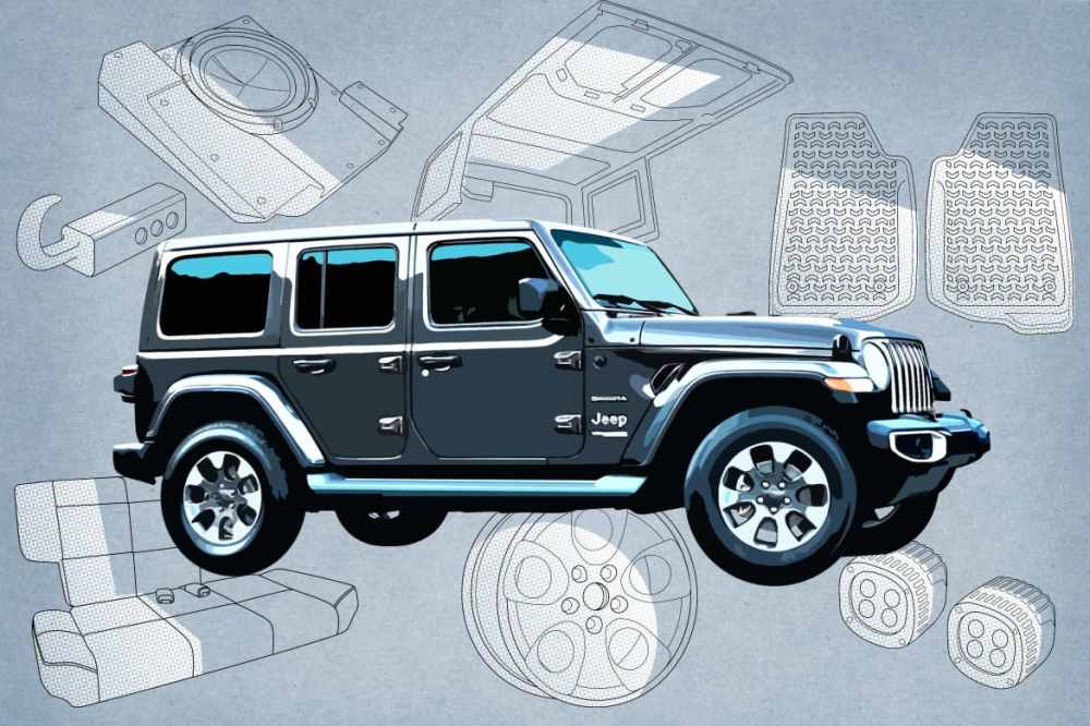 medium resolution of 2019 jeep wrangler features that change by trim level